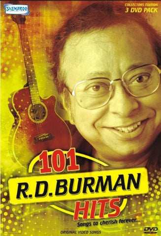 Buy 101 R.D.Burman Hits (3DVD Pack) Box set, NTSC online for USD 19.13 at alldesineeds