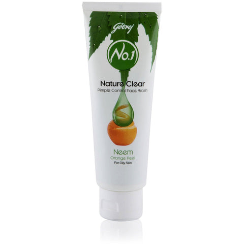 Buy Godrej No. 1 Facewash Nature Clear 100 gms, set of 2 (Total 200 gms) online for USD 9.99 at alldesineeds