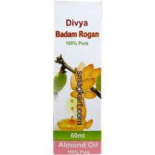 2 x Patanjali Divya Badam Rogan 60ml (Total 120 ml) - alldesineeds