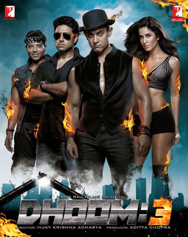 Buy Dhoom 3: Bollywood BLURAY DVD online for USD 9.99 at alldesineeds