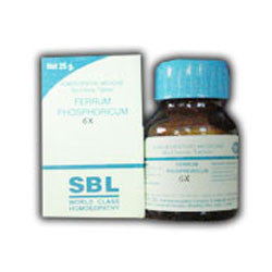 2 pack X SBL Homeopathy - Bio Chemics - Ferrum Phosphoricum - alldesineeds