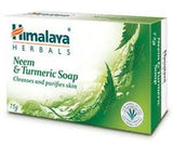 Buy 2 x Himalaya Neem & Turmeric Soap 75gms each online for USD 8.45 at alldesineeds