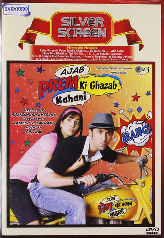 Buy Ajab Prem Ki Ghazab Kahani : Bollywood BLURAY DVD online for USD 11.25 at alldesineeds