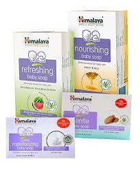 Buy 2 pack X Himalaya nourishing baby soap 125gms each online for USD 10.2 at alldesineeds