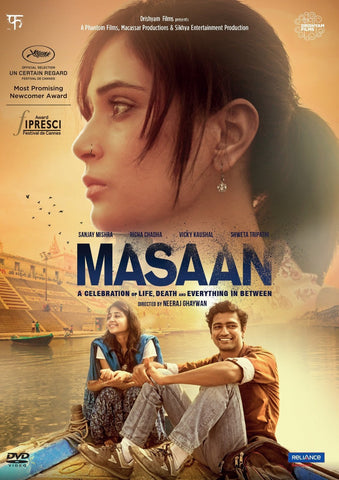 Buy Masaan : Bollywood DVD online for USD 11.25 at alldesineeds