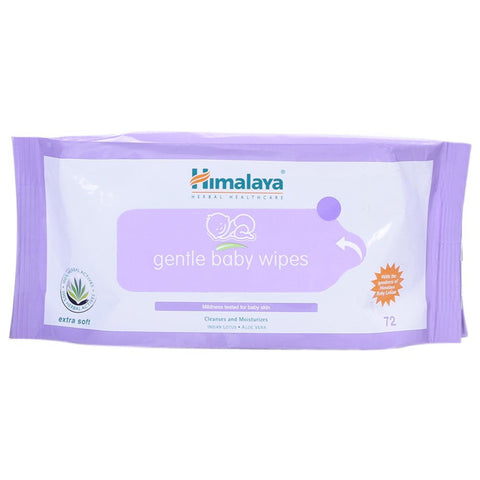 Buy Himalaya Herbals Gentle Baby Wipes (72 Sheets) online for USD 13.99 at alldesineeds