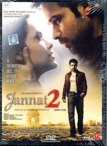 Buy Jannat 2 : Bollywood BLURAY DVD online for USD 9.99 at alldesineeds