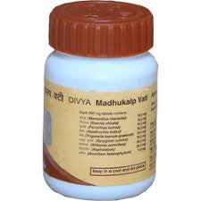 Buy 3 x Patanjali Madhukalp Vati 40gm (Total 120 gms) online for USD 12.8 at alldesineeds