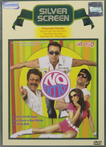 Buy No Entry: Bollywood DVD online for USD 8.45 at alldesineeds