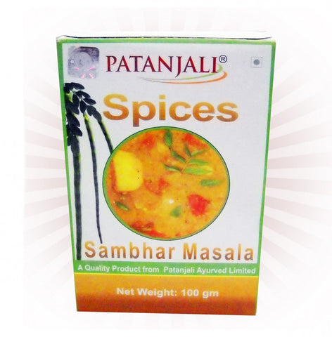 Buy Patanjali Sambhar Masala 100 Gms online for USD 10.8 at alldesineeds