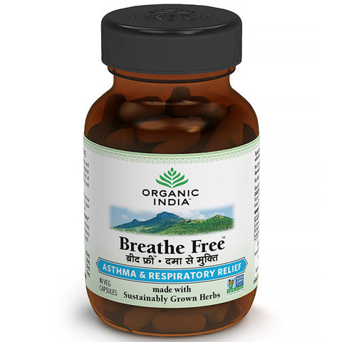 Buy Breathe Free 60 Capsules Bottle online for USD 12.18 at alldesineeds