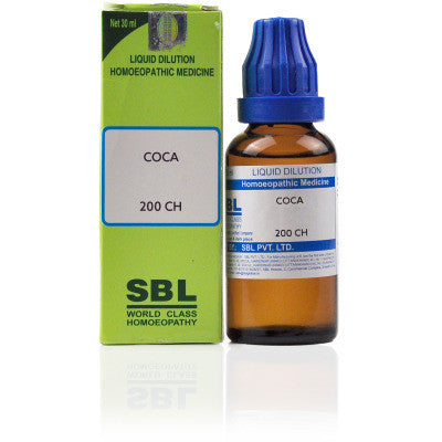 2 x SBL Coca 200 CH 30ml each - alldesineeds