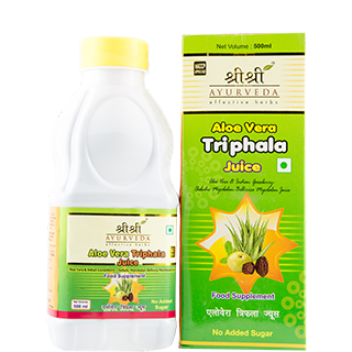 Buy Aloe Vera Triphala Juice 500 ml - SRI SRI Ayurveda online for USD 31.49 at alldesineeds