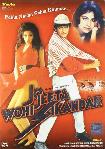 Buy Jo Jeeta Wohi Sikander : Bollywood DVD online for USD 9.45 at alldesineeds