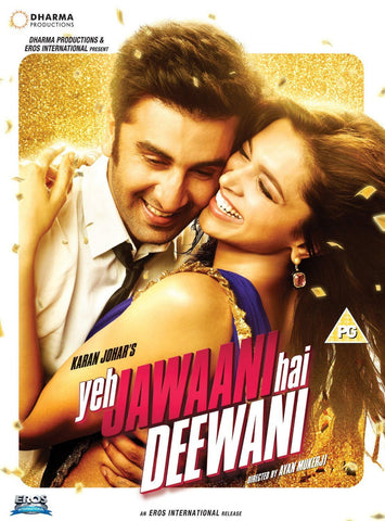 Buy Yeh Jawaani Hai Deewani : Bollywood DVD online for USD 11 at alldesineeds