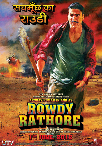 Buy Rowdy Rathore : Bollywood DVD online for USD 8 at alldesineeds