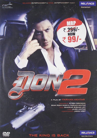 Buy DON2 : Bollywood DVD online for USD 7 at alldesineeds