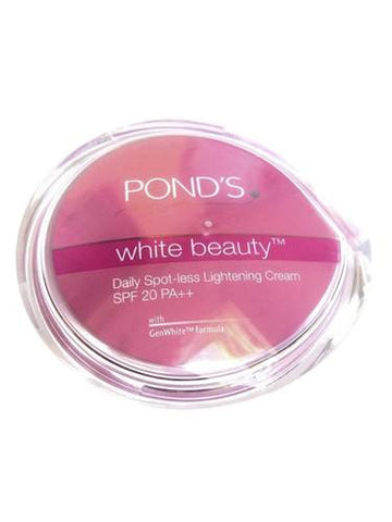 Buy 2X Ponds White Beauty Daily Spot-less Lightening Cream (SPF 20) 25 gms each online for USD 21.78 at alldesineeds