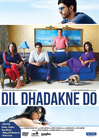 Buy Dil Dhadakne Do : Bollywood DVD online for USD 12.45 at alldesineeds