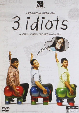 Buy 3 Idiots: Bollywood DVD online for USD 9.45 at alldesineeds