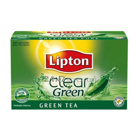 Lipton Clear Green Tea Bags 20