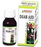 2 pack of Diab Aid Drops - Baksons Homeopathy - alldesineeds