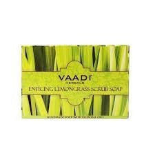 Buy 6 Pack ENTICING LEMONGRASS SCRUB SOAP 75 gms each (Total 450 gms) online for USD 17.3 at alldesineeds