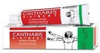 Cantharis Ointment Vesicular eruptions 25 gms each - Baksons Homeopathy - alldesineeds