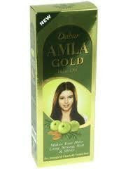 Dabur Amla Gold Hair Oil 200ml - Pack of 6