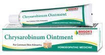 Chrysarobinum Ointment for Eczema and Psoriasis 25 gms each- Baksons Homeopathy - alldesineeds