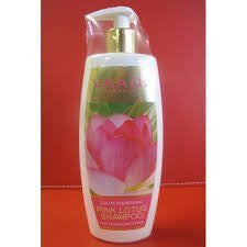2 Pack PINK LOTUS SHAMPOO 350 ml each (Total 700ml) - alldesineeds