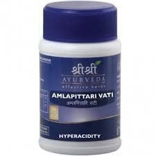 Buy Amlapittari Vati 60 tabs x 2 (2 Pack) - SRI SRI Ayurveda online for USD 15.35 at alldesineeds