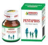 Buy 2 pack of Pentaphos Tablet Health Promoter - Baksons Homeopathy online for USD 16.61 at alldesineeds