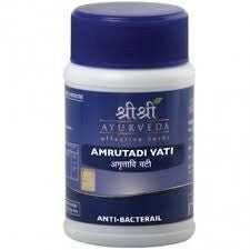 Buy Amrutadi Vati 60 tabs x 2 (2 Pack) - SRI SRI Ayurveda online for USD 15.35 at alldesineeds