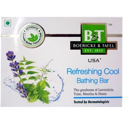 Buy 2 x Willmar Schwabe India B&T Refreshing Cool Bathing Bar (75g) each online for USD 11.3 at alldesineeds