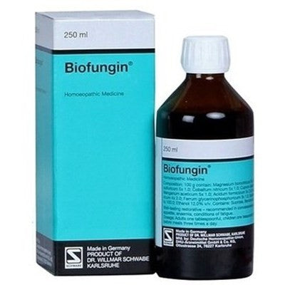 Buy 2 x Willmar Schwabe Germany Biofungin (250ml) each online for USD 75.12 at alldesineeds