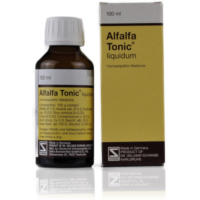 Buy 2 x Willmar Schwabe Germany Alfalfa Tonic (100ml) each online for USD 34.9 at alldesineeds