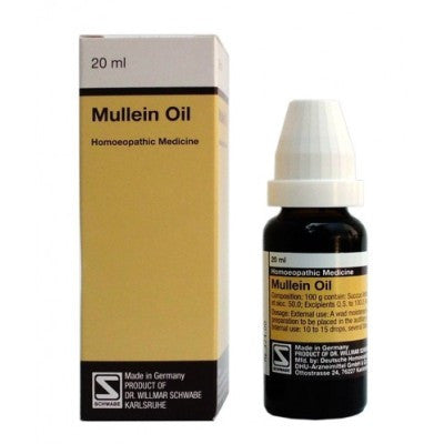 Buy 2 x Willmar Schwabe Germany Mullein Oil (20ml) each online for USD 33.63 at alldesineeds