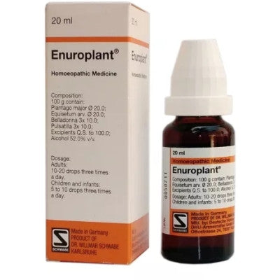 Buy 2 x Willmar Schwabe Germany Enuroplant (20ml) each online for USD 37.87 at alldesineeds
