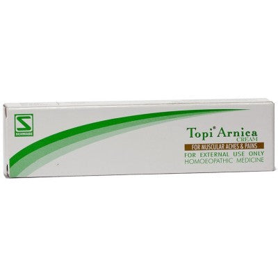 Buy 2 x Willmar Schwabe India Topi Arnica Cream (25g) each online for USD 11.3 at alldesineeds