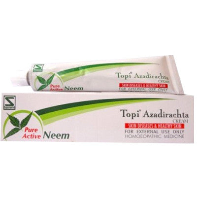 Buy 2 x Willmar Schwabe India Topi Azadirachta Cream (25g) each online for USD 11.3 at alldesineeds