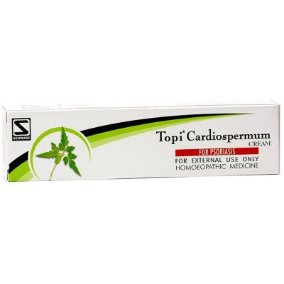 Buy 2 x Willmar Schwabe India Topi Cardiospermum Cream (25g) each online for USD 11.3 at alldesineeds