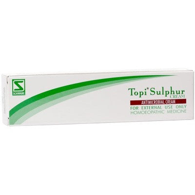 Buy 2 x Willmar Schwabe India Topi Sulphur Cream (25g) each online for USD 11.3 at alldesineeds