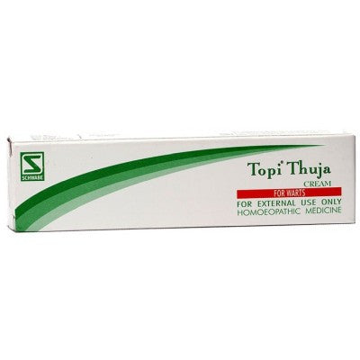 Buy 2 x Willmar Schwabe India Topi Thuja Cream (25g) each online for USD 11.3 at alldesineeds