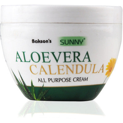 2 x Baksons Sunny All Purpose Aloe Vera Calendula Cream (125g) each - alldesineeds