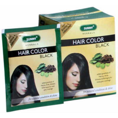 Buy 6 x Baksons Hair Color (Black) (20g) each online for USD 12.26 at alldesineeds