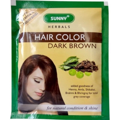Buy 6 x Baksons Hair Color (Dark Brown) (20g) each online for USD 12.26 at alldesineeds