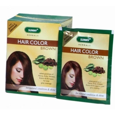 Buy 6 x Baksons Hair Color (Brown) (20g) each online for USD 12.26 at alldesineeds