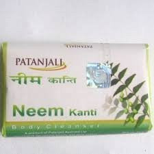 Buy 5 Pack Divya Kanti Neem soaps 75gms (Total 375 gms) online for USD 17.53 at alldesineeds