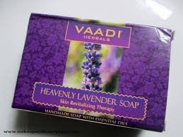 Buy 6 Pack Heavenly LAVENDER SOAP with Rosemary extract 75 gms each (Total 450 gms) online for USD 17.85 at alldesineeds